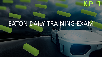 Eaton: Daily Training Assessment CEI-24