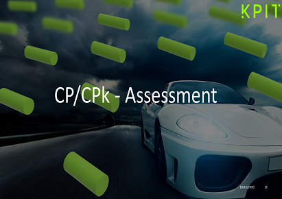 CP/CPk - Assessment CEI-38