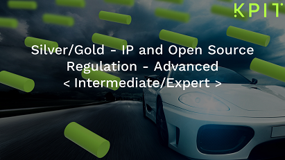 Silver/Gold - IP and Open Source Regulation - Advanced CEIPRMIE010
