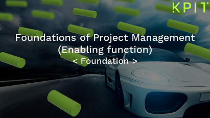Foundations of Project Management (Enabling function) - KAIZEN CEIPRMIF002