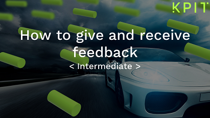 How to give and receive feedback-KAIZEN CEISOFIE004