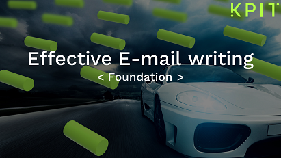 Effective E-mail writing-KAIZEN CEISOFIF001