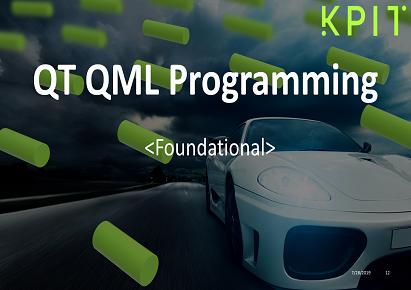 QT QML Programming | KPIT Technologies Ltd  eduOnline