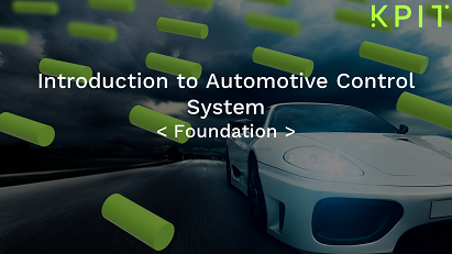 Introduction to Automotive Control System CEITECIF006