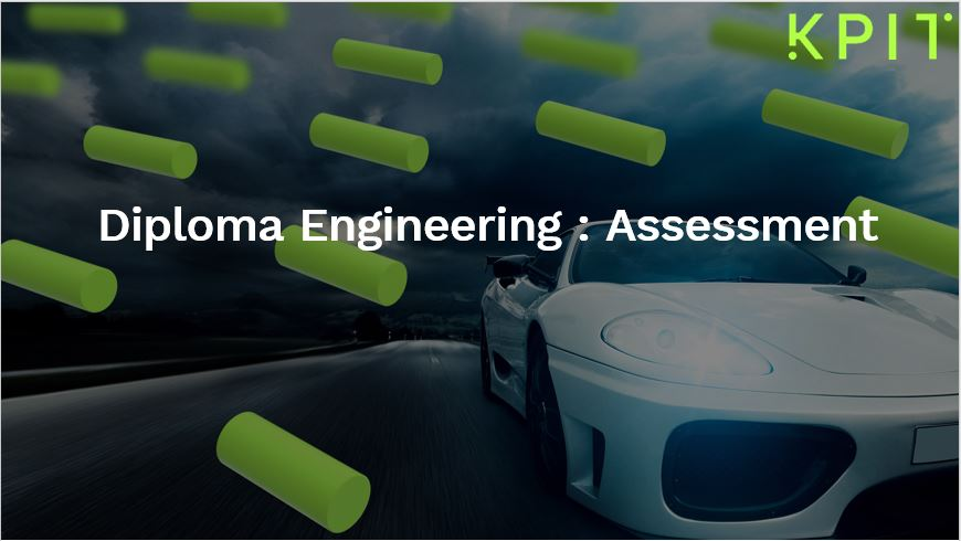 Diploma Engineers - Assessment 100001